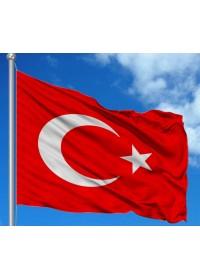 Paraşüt Türk Bayrakları