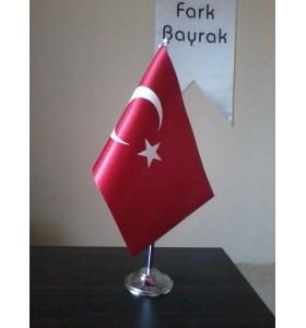 Türk Masa Bayrağı 15x22,5 cm
