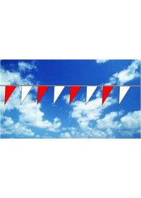 Üçgen Dizili Bayrak (Baskısız, Vinil)