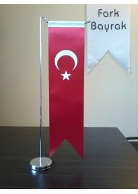Türk Kırlangıç Masa Bayrağı 8x32 cm