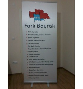 Roll-Up 85x200cm (Saten)